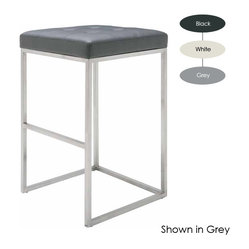 Chi Bar Stool, Set of 2, White