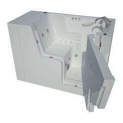 Arista - 29 x 53 Right Drain Whirlpool & Air Wheelchair Accessible Walk-In Bathtub - DESCRIPTION