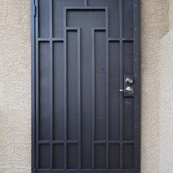 Wrought Iron Security Doors - Artistic Iron Works