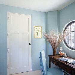 Wood Doors - Primed White Door by HomeStory Doors