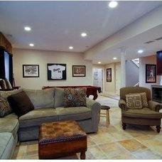 Contemporary Living Room Kazmama - New House