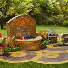 Outdoor Fountains And Ponds by System Pavers