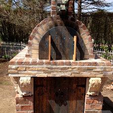 Midcentury  by BrickWood Ovens