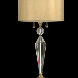 Dale Tiffany - Dale Tiffany GT701218 Strada Transitional Crystal Table Lamp - Dale Tiffany GT701218 Strada Transitional Crystal Table Lamp