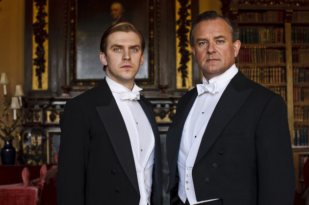 Downton Abbey: Matthew and Robert