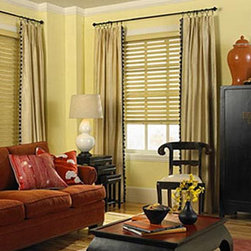 """Levolor Classic 2"""" Wood Blinds - Levolor 2"""" Classic Wood Collection offers six of the most popular finishes and the warmth and sophistication of real wood with the quality and value synonymous with Levolor."""