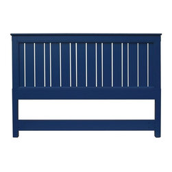 Trade Winds - New Trade Winds King Bed Blue Painted - Product Details