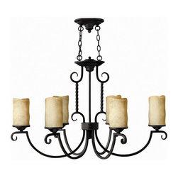 Hinkley Lighting - Hinkley Lighting 3508OL Casa Olde Black 6 Light Chandelier - Hinkley Lighting 3508OL Casa Olde Black 6 Light Chandelier