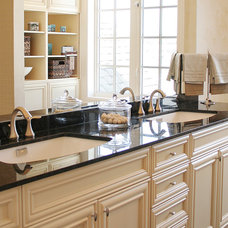 traditional bathroom vanities and sink consoles by AyA Kitchens and Baths