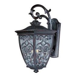 Maxim Lighting - Maxim Lighting 40125CDOB Newbury VX 3-Light Outdoor Wall Lantern - Features