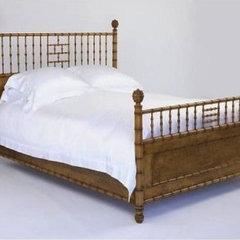 traditional beds Faux Bamboo Bed