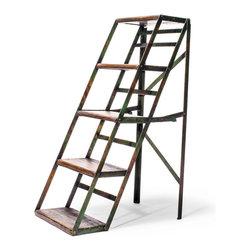 STEP LADDER - http://www.manoftheworld.com/products/vintage_step_ladder