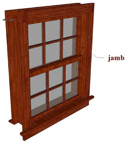 Window jamb for Window jamb design