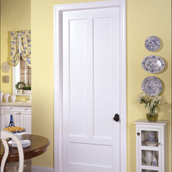 Farmhouse door - TruStile TS3190 in MDF with quarter bead (QB) sticking and flat (C) panel