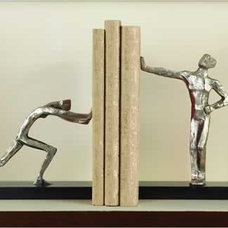 Contemporary Bookends by Inside Avenue