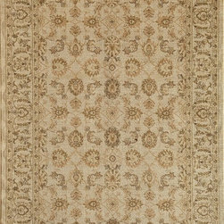 "Rugs America - Traditional Peshawar 7'10""x10'10"" Rectangle Classic Cream Area Rug - The Peshawar area rug Collection offers an affordable assortment of Traditional stylings. Peshawar features a blend of natural Classic Cream color. Machine Made of Heat-Set Poly the Peshawar Collection is an intriguing compliment to any decor."