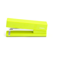 Poppin - Stapler, Lime Green - Make your work day a little more fun with a playful desk accessory like one of these bright, pop-colored staplers (OK, you can still have black if you insist.) You'll smile every time that steel anvil ka-chunks through 20 sheets of paper. Just don't let your office mates steal it.