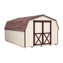 Fifthroom - Dura-Temp Siding Barn Style (4' sidewall) Sheds -