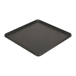 Coleman - Cast Aluminum Griddle - Enjoy quality eats while camping with this cast aluminum griddle. It features a nonstick surface that comes pre-seasoned and provides even heat distribution for dependable cooking.   10'' W x 10'' H x 2'' D Cast aluminum Imported