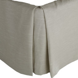 Mystic Valley - Hibiscus - Bed Skirt by Mystic Valley Traders, Queen - The Hibiscus, by Mystic Home