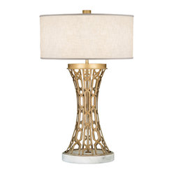 Allegretto Gold Table Lamp, 784910-2ST