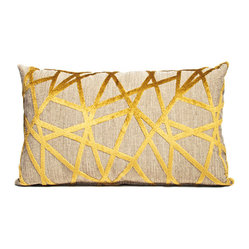 Angles Pillow, 22x22
