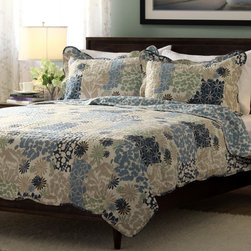Slumber Shop Bethany 3-piece Reversible Quilt Set -