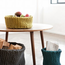 eclectic baskets by ferm LIVING