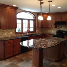 Traditional Kitchen Cabinetry by Vella Bath & Kitchen, Inc.