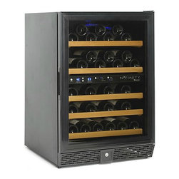 N'FINITY 50 Dual Zone Wine Cellar - If you're serious about wine, controlling the temperature and humidity is a must. There are many sizes, shapes, and options for cellars — I like this smaller one with dual zone temperatures for smaller-spaced rooms.