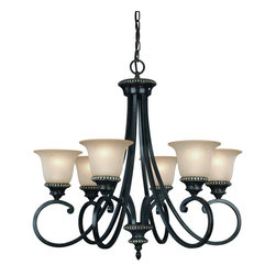 Dolan Designs - Dolan Designs 1750-148 Hastings Phoenix 6 Light Chandelier - Dolan Designs 1750-148 Hastings Phoenix 6 Light Chandelier