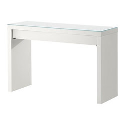 Eva Lilja Löwenhielm - Malm Dressing Table, White - I've always been a fan of the Ikea Malm desk. It's super simple and still gets the job done.