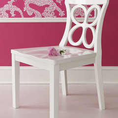 traditional dining chairs and benches by Horchow