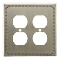 Cosmas - Cosmas Decorative Wall Plates and Outlet Covers - Heavy duty cast metal contruction