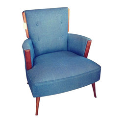 SOLD OUT!  Adrain Pearsall Style Blue Chair - $900 Est. Retail - $750 on Chairis -
