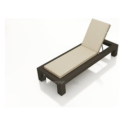 Forever Patio - Hampton Wicker Cushion Side Adjustable Chaise Lounge Chair - Whether you are pool side sea side or simply just outside you will love relaxing with the highly stylishHampton Single Adjustable Chaise Lounge. The UV-protected chocolate-colored wicker sports a flat woven design creating a contemporary look with clean lines. This lounger includes a fade- and mildew-resistant Sunbrella cushion available in a wide selection of colors. Order with any of the Quick Ship fabric options and your order will ship in just 7 to 10 business days! For more than 10 years Forever Patio has been innovating the furniture industry helping vendors improve their catalog selection with the best quality craftsmanship in the business and helping homeowners find the perfect long-lasting outdoor sets for their backyards. With their Modern and contemporary styles quality patio sets from Forever Patio break down the barriers and extend your home's interior design into an exterior living space. Designed to last for generations Forever Patio furniture will stand up to all but the harshest weather conditions. The flexibility of design styles and options ensure a set that compliments your home. Features include High-Density Polyethylene (HDPE) all-weather wicker is infused with UV inhibitors that prevent fading and cracking ordinarily caused by sunlight. Thick-gauged powder-coated aluminum frame offers long lasting durability and rust resistance. Select any of the 6 Quick Ship fabrics and your order will ship out in 10 days or less! Designed to match the entire Hampton Collection. Call to build your own custom set. Unique look of wicker furniture will add style and beauty to your outdoor setting Offered in wide variety of fabric options for cushions Super comfortable high quality cushions designed for extreme comfort Adjustable backrest designed for extreme comfort Sunbrella cushion covers provide unmatched fade moisture and mildew resistance. Cushions are made from quick-drying polyur