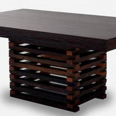 Contemporary Dining Tables by Woodland Creek Furniture