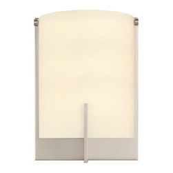 "Sonneman - Sonneman 3671 Arc 1 Light 9"" Height ADA Wall Sconce - Sonneman 3671 Arc 1 Light 9"" Height ADA Wall SconceGeometric precision and exacting craftsmanship are the hallmarks of this wall sconce from the Arc Collection.Sonneman 3671 Features:"