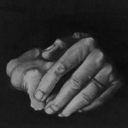 Hands (Original) by Erin  Keith - Practicing drawing hands.