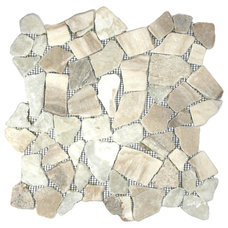 Rustic Mosaic Tile by Pebble Tile Shop