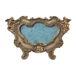 Sterling Industries - Sterling Industries 93-9200 Florintine Scroll Picture Frames - Oval - Picture Frame (1)