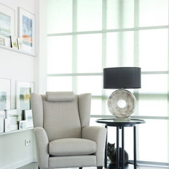 contemporary armchairs by HUISSTYLING