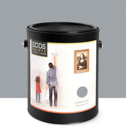 Imperial Paints - Interior Semi-Gloss Trim & Furniture Paint, Hawk Grey - Overview: