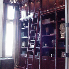 Traditional Bookcases by Zongkers Custom Furniture & Cabinetry