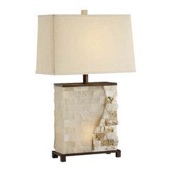 Crestview Collection - Crestview Collection CVATP649 Vista Table Lamp W/Nightlight - Crestview Collection CVATP649 Vista Table Lamp w/Nightlight