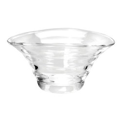 Portmeirion - Sophie Conran Glass Medium Bowl Multicolor - 494008 - Shop for Bowls and Candy Dishes from Hayneedle.com! You'll love the stunning design of the Sophie Conran Glass Medium Bowl. It makes gorgeous serving bowl or simply use it as a decorative piece in your dining or living room. While this bowl can be cleaned in the dishwasher on a low heat setting we recommend you hand wash after each use.About PortmeirionStrikingly beautiful eminently practical refreshingly affordable. These are the enduring values bequeathed to Portmeirion by its legendary co-founder and designer Susan Williams-Ellis. Her father architect Sir Clough Williams-Ellis was the designer of Portmeirion the North Wales village whose fanciful architecture has drawn tourists and artists from around the world (including the creators of the classic 1960s TV show The Prisoner). Inspired by her fine arts training and creation of ceramic gifts for the village's gift shop Susan Williams-Ellis (along with her husband Euan Cooper-Willis) founded Portmeirion Pottery in 1960. After 50+ years of innovation the Portmeirion Group is not only an icon of British design but also a testament to the extraordinarily creative life of Susan Williams-Ellis.The style of Portmeirion dinnerware and serveware is marked by a passion for both pottery manufacturing and trend-setting design. Beautiful tactile nature-inspired patterns are a defining quality of Portmeirion housewares from its world-renowned botanical designs modeled on antiquarian books to the breezy natural colors of its porcelain and earthenware. Today the Portmeirion Group's design legacy continues to evolve through iconic brands such as Spode the Pomona Classics collection and the award-winning collaboration of Sophie Conran for Portmeirion. Sophie Conran for Portmeirion:Successful collaborations have provided design inspiration throughout Sophie Conran's life. Her father designer Sir Terence Conran and mother food writer Caroline Conran have been the pi