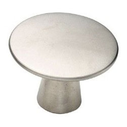 "Amerock Galleria Satin Nickel Knob 1 9/16"" -"