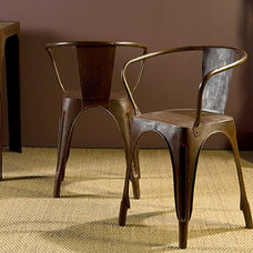 eclectic dining chairs and benches by Hudson Goods