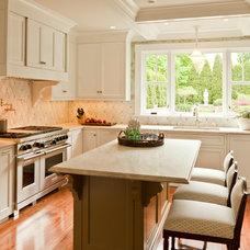 Contemporary Kitchen by Taste Design Inc