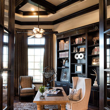 Traditional Home Office by Whitman Interiors